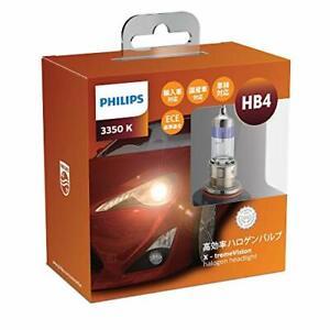 PHILIPS Headlight Halogen Bulb HB4 3350K 12V 55W X-tremeVision 2pcs XV-H6-1
