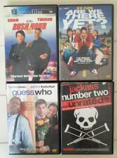 Are We There Yet Jackass 2 Rush Hour 2 Guess Who 4 DVD Lot Ice Cube Mac Kutcher
