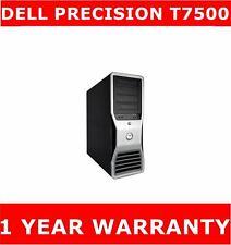 DELL PRECISION T7500 XEON 2.40GHZ  500GB SSD + 2TB 12GB RAM QUADRO 2000