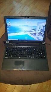 "Toshiba Satellite Pro R850-143 Laptop Notebook 15.6"" 4GB 80GB SSD Windows 10 AMD"