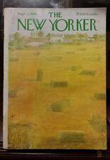 The New Yorker September 13, 1969