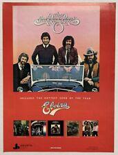 THE OAK RIDGE BOYS 1981 original POSTER ADVERT FANCY FREE ELVIRA