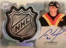16-17 ud cup upper deck nhl glory cam neely vancouver canucks silver shield 6/10