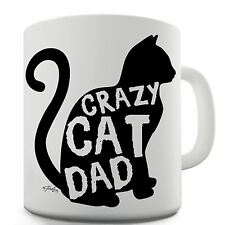 Twisted Envy Crazy Cat Dad Ceramic Mug
