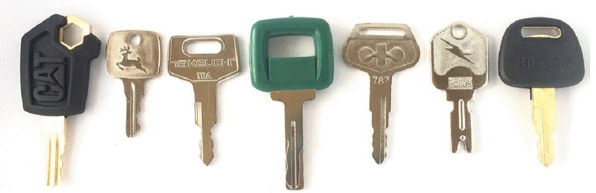 Heavy Equipment Keys