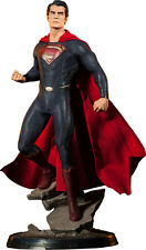 "SUPERMAN: Man of Steel - Superman 21.5"" Premium Format Statue (Sideshow) #NEW"