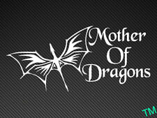 Mother Of Dragons Car Bumper Sticker Game Of Thrones Vinyl Decal