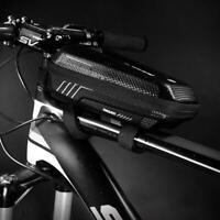 Mountain Bike Front Beam Organizer Waterproof Riding Bag Storage Pouch Equipment