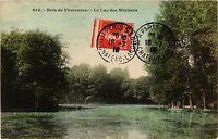 CPA PARIS 12e-Bois de Vincennes-Le Lac des Minimes (322752)