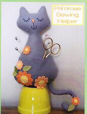 Pattern - Primrose Sewing Helper - cute cat sewing accessory Pattern