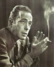 Humphrey Bogart clipping Casablanca actor B&W photo 1946 film noir Big Sleep