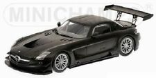 Minichamps MERCEDES SLS AMG GT3 MATT BLACK 1:18 (NEW STOCK)