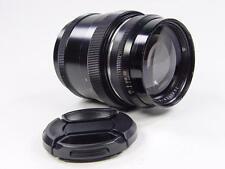 Black Rangefinder 85mm f/2 JUPITER-9 Zorki Leica LTM39 s/n 7703455. Sonnar USSR