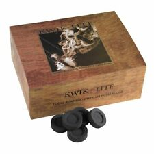 """1.5"""" Diameter Kwik Lite Charcoal for Incense for Church or Home"""