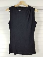METALICUS One size ( 10 - 12 - 14 ) womens Black Top [#118]