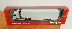 Herpa 142755 Scania Sattelzug weiß unbedruckt 1:87 Neu u. OVP