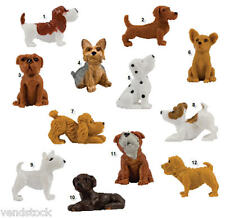 BRAND NEW ADOPT A PUPPY SET OF 12 MINI DOGS FIGURES PARTY CAKE TOPPERS SERIES 4