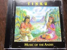 Tinku - Music Of The Andes Audio Cd (1996) Fine