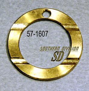 Triumph layshaft needle bearing thrust washer 57-1607 T1607 anlaufscheibe bronze