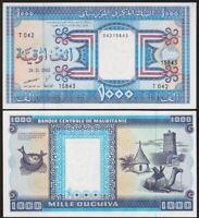 1000 OUGUIYA 2002 MAURITANIE / MAURITANIA [SPL / AU] P9c - A. UNC