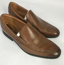 Men's Clarks Tiden Loafer SlipOn Style Light Brown Dress Shoes Sz EU45 US11.5