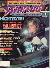 Starlog April 1987 Nightflyers, Adam West Bastman 042717nonDBE