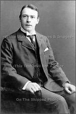 Photo: Titanic Designer Thomas Andrews Rare Seated View