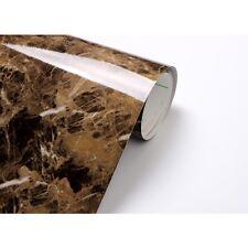 Brown Granite Marble Look Counter Top Self Adhesive Peel-Stick Sample 0.5m