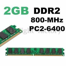 4GB (2x2GB) DDR2 800Mhz PC2 6400 240Pin Desktop DIMM Memory RAM For AMD Chipset