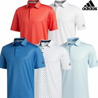 adidas Golf Ultimate 365 Badge of Sport Mens Short Sleeve Polo Shirt 2020 Model
