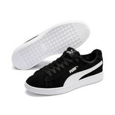 Puma Vikky v2 Fur Wns Ladies Sneaker Shoes 369981 Padded Black