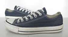 Ladies/Girls CONVERSE Blue Canvas Trainers Size 5 Good Cond
