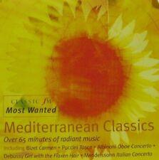 MEDITERRANEAN CLASSICS - CLASSIC FM CD (2003) VERDI BIZET VIVALDI PUCCINI FAURÉ
