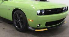 2015-2020 Dodge Challenger, ScatPack, SRT, YELLOW AIR DAM PROTECTORS (GUARDS)