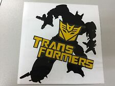Car Decal/Sticker for Garfield Transformers Window/Household (light reflection)