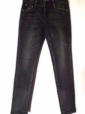 "WOMEN'S JEANS YI XUN DISTRESSED SKINNY STRETCH SIZE 9/27"" LEG 30"" NWT"