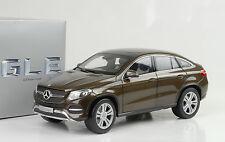 2015 Mercedes-Benz GLE Class C292 Coupe citrine brown metallic 1:18 Norev Dealer