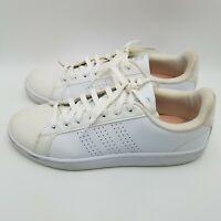 Adidas Women's Cloudfoam Advantage Clean Fashion Sneaker White Size 11