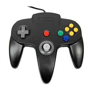 Lot Of 10 Black Replacement Controller For Nintendo 64 For N64 N64