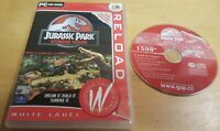 JURASSIC PARK OPERATION GENESIS for PC RARE & COMPLETE by Konami