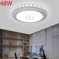 48W LED Kristall Deckenleuchte Deckenlampe Badleuchte Licht Schlafzimmer Warmwei