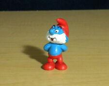 Smurfs 20424 Thinking Papa Smurf Smiling Rare Vintage Figure PVC Toy Figurine