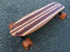 "Mini Cruiser Skateboard - Kiwi ""Mini Croozer"" - Solid Wood"