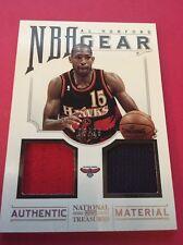 Al Horford Hawks 2012-2013 National Treasures NBA Gear #43  5/99