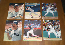 BOSTON RED SOX WADE BOGGS 8x10 COLOR PHOTOS - YOUR CHOICE