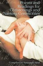 """""""VERY GOOD"""" Susannah Steel, Poems and Readings for Christenings and Naming Cerem"""