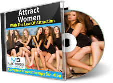 ATTRACT WOMEN WITH THE LAW OF ATTRACTION - Hypnosis CD get more girls pua sex