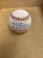 Juan Marichal Autographed Baseball HOF 83 San Francisco Giants No Hitter