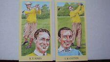 GOLF JONES NICKLAUS VARDEN ,OPEN CHAMPIONS ,GALLERY OF LEGENDS SET 72 CARDS EXC