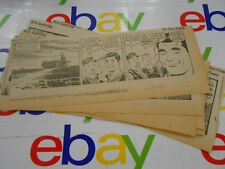 The Oregonian- June, 19 00002D94 67- Comic Strips- Clipped- Buz Sawyer- Lot of 11